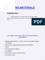 Piping Materials selection training