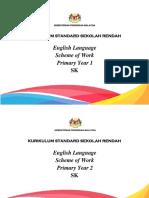 Kurikulum Standard Sekolah Rendah Scheme of Work