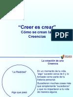 5 Como Se Crean Las Creencias 2013