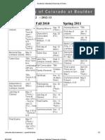 Academic Calendar _ University of Colorado at Boulder