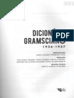 Dicionario Gramsciano, Gramsci