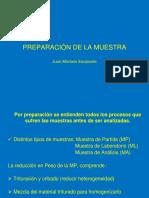 clase 6  PREPARACIÓN DE LA MUESTRA