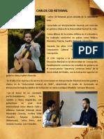 Book de Presentación Carlos Cid Retamal, 2018