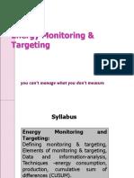 8.Energy Monitoring & Targeting
