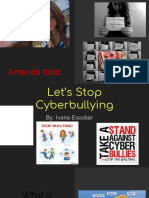 presentation cyberbullying
