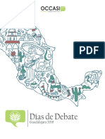 Días de Debate Guadalajara 2018