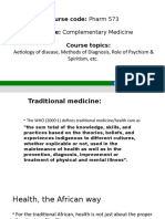 PHARM 573 – COMPLEMENTARY MEDICINE [Autosaved].pptx