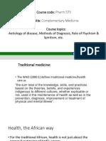 Pharm 573 – Complementary Medicine [Autosaved]