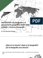 Ciencia y Geografia