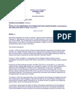 Alejandro vs. Office of the Ombudsman G.R. No. 173121 April 3 2013