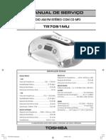 Service Manual Toshiba TR 7051
