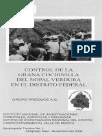 control de la grana cochinilla en nopal