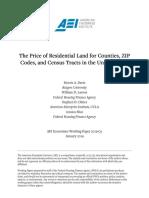 AEI Price of Land US - Copy