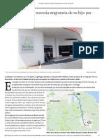 Un Padre Relata la Travesía Migratoria del Hijo Por Brasil Primera Parte Noviembre 17