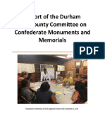 Monument report