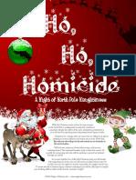 Ho Ho Homicide  8-12 players