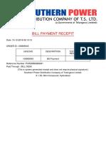 t Ssp Dcl Bill Receipts