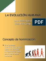 Evolucion Humana Tema 1