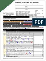 20161110 Fem Design Verification Checklist for Csi Etabs Summary
