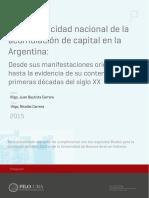 Acumulacion Originaria en Argentina