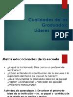 Cualidades de Los Graduados
