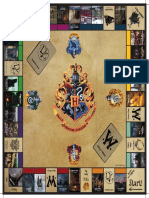 HarryPotterParty Monopoly Board Professional Printing 480x480mm