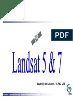 Landsat 5 7 Missions