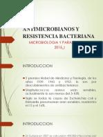 Antimicrobianos y Resistencia Bacteriana