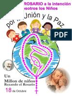 18 de OCTUBRE 2018 ROSARIO DE LOS NIÑOS