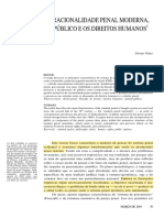 PIRES, Álvaro. a Racionalidade Penal Moderna, o Público e Os Direitos Humanos
