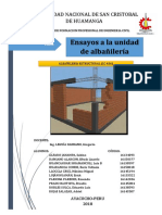 Informe Albañilería Final