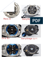 Variety of Abu Garcia Centrifugal Brake System