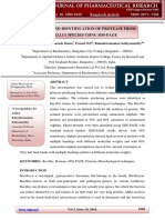 Isolation and Identification of Protease From Bacillus Species Using SDS-PAGE