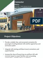 Airport Metro Connector presentation