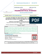 Invitro studies on the effect of Curcuma Longa Methanol extracts in colorectal HCT – 116 cell lines.pdf