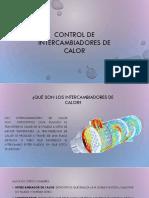 Control de Intercambiadores de Calor