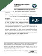 GCMS and FTIR Analysis on the Methanolic Extract of Red Vitis Vinifera Seed