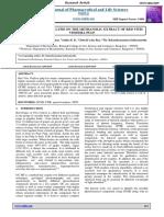 GCMS and FTIR Analysis on the Methanolic Extract of Red Vitis Vinifera Pulp