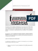 Adjudicación Simplificada en Las Contrataciones Del Estado --- Osce Peru