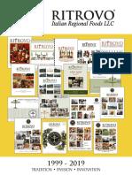 2019 ritrovo selections catalog