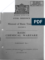 A12.CD.M2.P1 Civil Defence Manual of Basic Training Volume II Basic Chemical Warfare