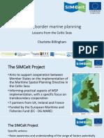 Charlotte Billingham Cross Border Marine Planning Lessons From the Celtic Seas
