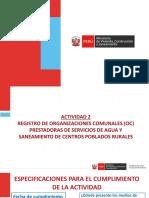 3. PPT Formalización de Las OC (JASS) Meta 41