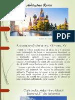 Arhitectura Rusiei