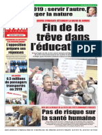 Journal Le Soir Dalgerie 03.01.2019