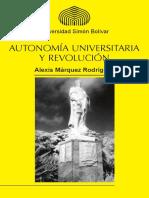 Autonomia Universitaria y Revolucion