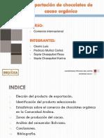 Trabajo Final de Comercio Bolivia Exportacion