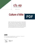Culture d Elite