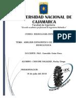 Analisis Estadistico de La Informacion Hidrologica 2