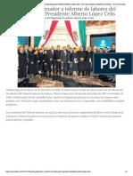10-12-2018 Asiste Gobernador a informe de labores del Magistrado Presidente Alberto López Celis.
